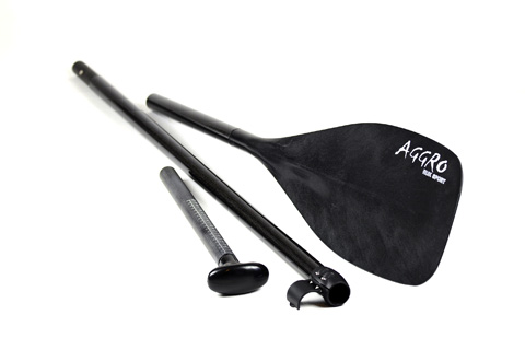 3 Piece AGGRO Top Grade Glass Shaft SUP Paddle
