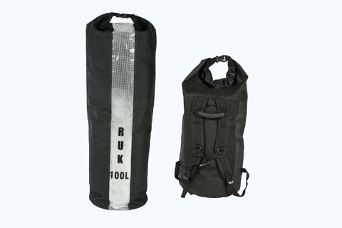 RUK Sports 100 litre Dry Bag with Carry Straps Link
